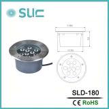 Form 9W imprägniern Licht LED-Inground für Garten (SLD-180)