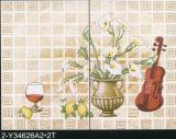mattonelle abbastanza lustrate & di ceramica di 300X450mm