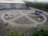 Ферменная конструкция крыши случая этапа освещения Spigot алюминиевого сплава