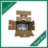 La Cámara de OEM papel ondulado caja de embalaje con asa