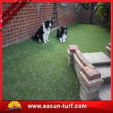 Césped artificial al aire libre falso plástico de la alfombra de la hierba de la larga vida durable