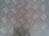 Alimentation feuille en aluminium à damiers 1060 usine en Chine