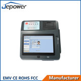 7 인치 전시 Bis, EMV, FCC, RoHS 의 세륨, CCC 증명서를 가진 새로운 인조 인간 POS 장치