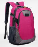 Vermelho masculino High-Capacity impermeável à moda de Rosa do saco do alpinismo do saco de ombro do dobro do curso das mulheres coreanas ao ar livre novas da trouxa dos esportes