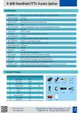 長い寿命アークの融合のスプライサの光ファイバ工業接続機械耐衝撃性の防水されたアークのスプライサX-600 Shinhoの金の製造業者
