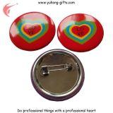 Pin del risvolto del tasto stampato DIY del metallo con il vostro proprio marchio (YH-MP044)