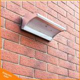 Capteur de mouvement solaire extérieur mur du jardin de lumière LED témoin de sécurité avec radar