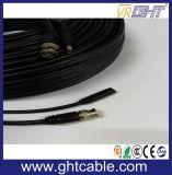 Kabel de van uitstekende kwaliteit van kabeltelevisie met de Schakelaar van BNC en van gelijkstroom