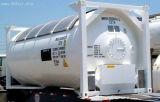 Personalizable de 20 pies de la norma ISO/gasolina/diesel de petróleo crudo contenedor cisterna