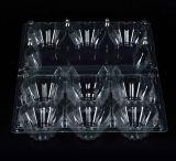 Биоразлагаемые пластиковый Блистер-Упаковка 8 яиц держатель прозрачной емкости яйцо ящик
