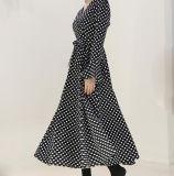 Vestido estreito elegante das senhoras da cintura de Customed