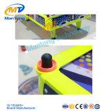 黄色いカラー4プレーヤーの空気ホッケーの硬貨によって作動させる屋内ゲーム・マシンのスポーツのホッケーのシミュレーター