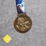 Alliage de zinc moulé course marathon exécutant Médaille de taekwondo de carnaval