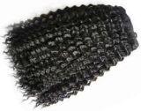 Pointe des cheveux brésiliens de haute qualité d'extension (PPG-L-0125)