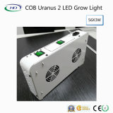 COB Urano crecer 2 LED de luz para el crecimiento del sistema hidropónico