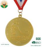 Medaille van de Sporten van het metaal de Gouden 3D met Aangepast Ontwerp