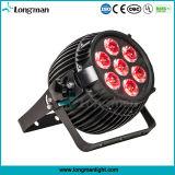 Luz estrecha LED de la etapa de la viga de Osram 7X15W RGBW para el partido