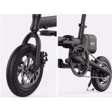 Facile porter le vélo électrique du mini pliage 250W avec la batterie au lithium de desserrage rapide d'atterrisseur de 36V 5.8A