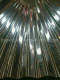 水波の電流を通された金属の屋根ふきか台形亜鉛によって電流を通される屋根シート