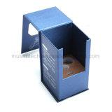 Estampación en plata de color azul de papel Cajas de Regalo de la ventana