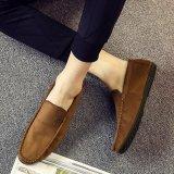 Sapata macia dos Loafers da forma dos Moccasins para a sapata dos planos do homem das sapatas de couro da alta qualidade dos homens