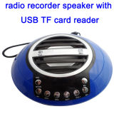 Mini Gravador de rádio de alta qualidade com leitor de música alto-falante