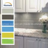 Haus konzipiert Außenumhüllung-weiße keramische Untergrundbahn-Wand-Mosaik-Fliese