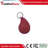 Tag RFID imperméable à l'eau passif personnalisé de Keyfob 13.56MHz d'ABS avec Sri512