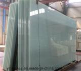 Tamanho grande de vidro triplo obscuros para Decoração de parede de separação