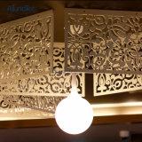 Panneau solide de façade coupé par laser en métal décoratif perforé d'écran d'aluminium