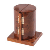 Contenitore di regalo cosmetico classico di legno