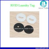 Étiquette de blanchisserie d'IDENTIFICATION RF de fréquence ultra-haute pour le management de vêtement