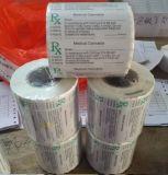 Les prix usine imperméabilisent le prix d'étiquette de blanc de collant de PVC