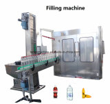 Frasco de plástico PET automática Sumo de polpa de frutos máquina de enchimento com máquinas de processamento de bebidas