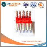 4X50 의 4X75HRC55-60 텅스텐 탄화물 4 플루트 편평한 끝 선반