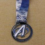 カスタム金属のイベントのための光沢がある金のマラソンのフィニッシャーメダル