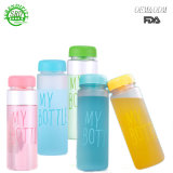 A minha garrafa de água de plástico do vaso