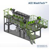 Plastic pp doet PE van het afval Verpletterende Wasmachine in zakken