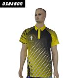 [أزسن] ملابس رياضيّة عالة تصميم أصفر لون تصميد لعبة البولو