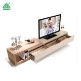 TV de tela plana do ambiente do gabinete do console elegante piano do processo de pintura
