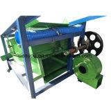 Líquido de limpeza amplamente utilizado e descaroçador de Garvity do ciclone do milho das sementes de mostarda do trigo do arroz de sal de Nigéria que apedrejam a máquina da tela