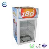 Gegenoberseite-Bildschirmanzeige-Kühlraum-Handelsminigefriermaschine für Getränk (JGA-SC58)