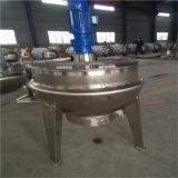 Miscelatore di cottura elettrico verticale di doppio strato