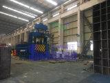 La chatarra de acero hidráulico de tubos de acero del tubo de la máquina de esquila