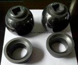 Válvula de bola de carburo de silicio y Sic manga