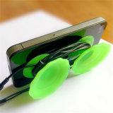 Sy02-01-001는 감개틀 와인더를 가진 실리콘 빨판 전화 홀더를 주문을 받아서 만든다