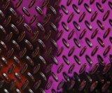 Épaisseur Checkered de la plaque en acier 3mm de Mme acier doux