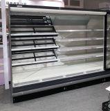 Reomte коммерческих открыть охладитель нагнетаемого воздуха с концов из прозрачного стекла