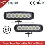 Low Cost 18W Offroad Epistar LED Work Light Bar (GT1012-18W)