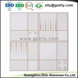 Tuiles en aluminium de plafond en métal d'enduit de rouleau de constructeur pour la décoration intérieure